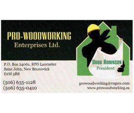 Pro-Woodworking Enterprises Ltd.